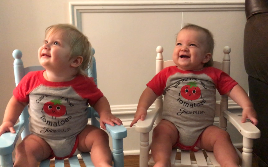 TWINS…TWINS BUSY…BUSY + MAGGIE AND WILLIAM